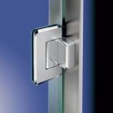ステンレス鋼(SUS316)製 ガラスドア用自由丁番 ZL-1703