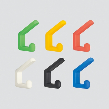 LAMPフック PXB-GR05型 ダブル ゴムレンジャー® シリーズ シリコーン ホワイト/アイボリー