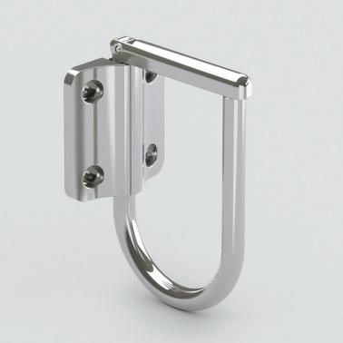 LAMPステンレス鋼製ジャンボナス環フック JN-T100 ステンレス シルバー