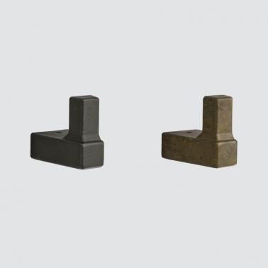 LAMPフック PXB-AC05型 エイジド キャスト シリーズ 真鍮(黄銅) ブロンズ