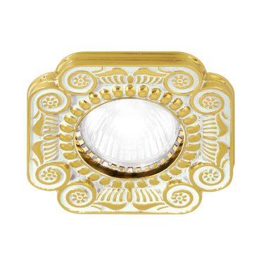 照明プレート フィレンツェ(ゴールド ホワイト パティナ) 照明プレート