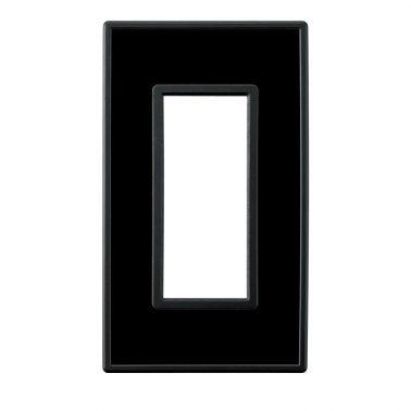 フレックス ブラック パネル(クリアーブラック) スイッチプレート・コンセントカバー(スイッチカバー、コンセントプレート)