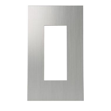 クールメタル(ヘアライン仕上) スイッチプレート・コンセントカバー(スイッチカバー、コンセントプレート)