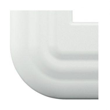 プレミアムホーロー レトロ(ホワイト) スイッチプレート・コンセントカバー(スイッチカバー、コンセントプレート)