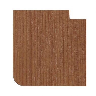 プレミアムウッド RD(天然木(アサダ)/クリアー塗装) ワイドコンセントカバー(コンセントプレート)
