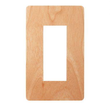 プレミアムウッド RD(天然木(メジロカバ)/クリアー塗装) スイッチプレート・コンセントカバー(スイッチカバー、コンセントプレート)