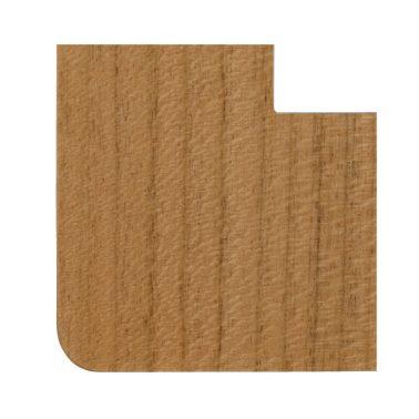 プレミアムウッド RD(天然木(ヤマザクラ)/クリアー塗装) ワイドコンセントカバー(コンセントプレート)