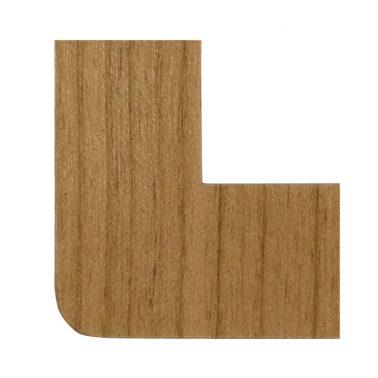 プレミアムウッド RD(天然木(ヤマザクラ)/クリアー塗装) ワイドスイッチプレート(スイッチカバー)