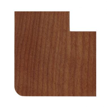 プレミアムウッド RD(天然木(アサダ)/クリアー塗装) 2連スイッチプレート・コンセントカバー(スイッチカバー、コンセントプレート)