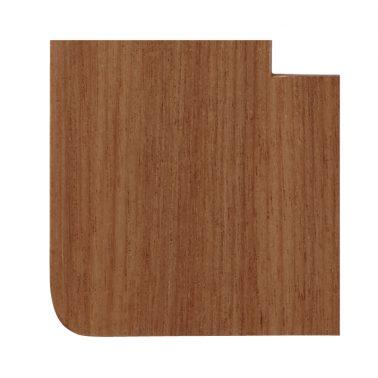 プレミアムウッド RD(天然木(アサダ)/クリアー塗装) 3連スイッチプレート・コンセントカバー(スイッチカバー、コンセントプレート)