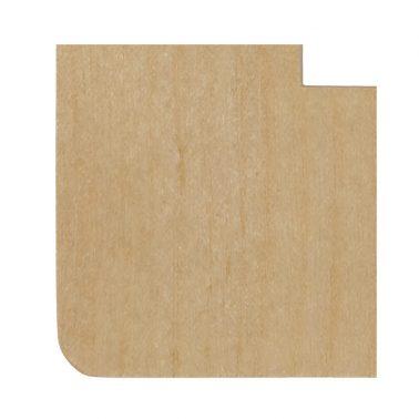 プレミアムウッド RD(天然木(メジロカバ)/クリアー塗装) 3連スイッチプレート・コンセントカバー(スイッチカバー、コンセントプレート)