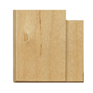 プレミアムウッド SQ(天然木(メジロカバ)/クリアー塗装) ワイドコンセントカバー(コンセントプレート)